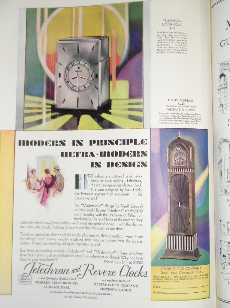 Vanity Fair Ad from October 1929